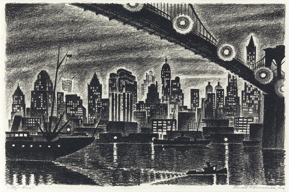 ARNOLD-RÖNNEBECK-Skyline-(Manhattan)