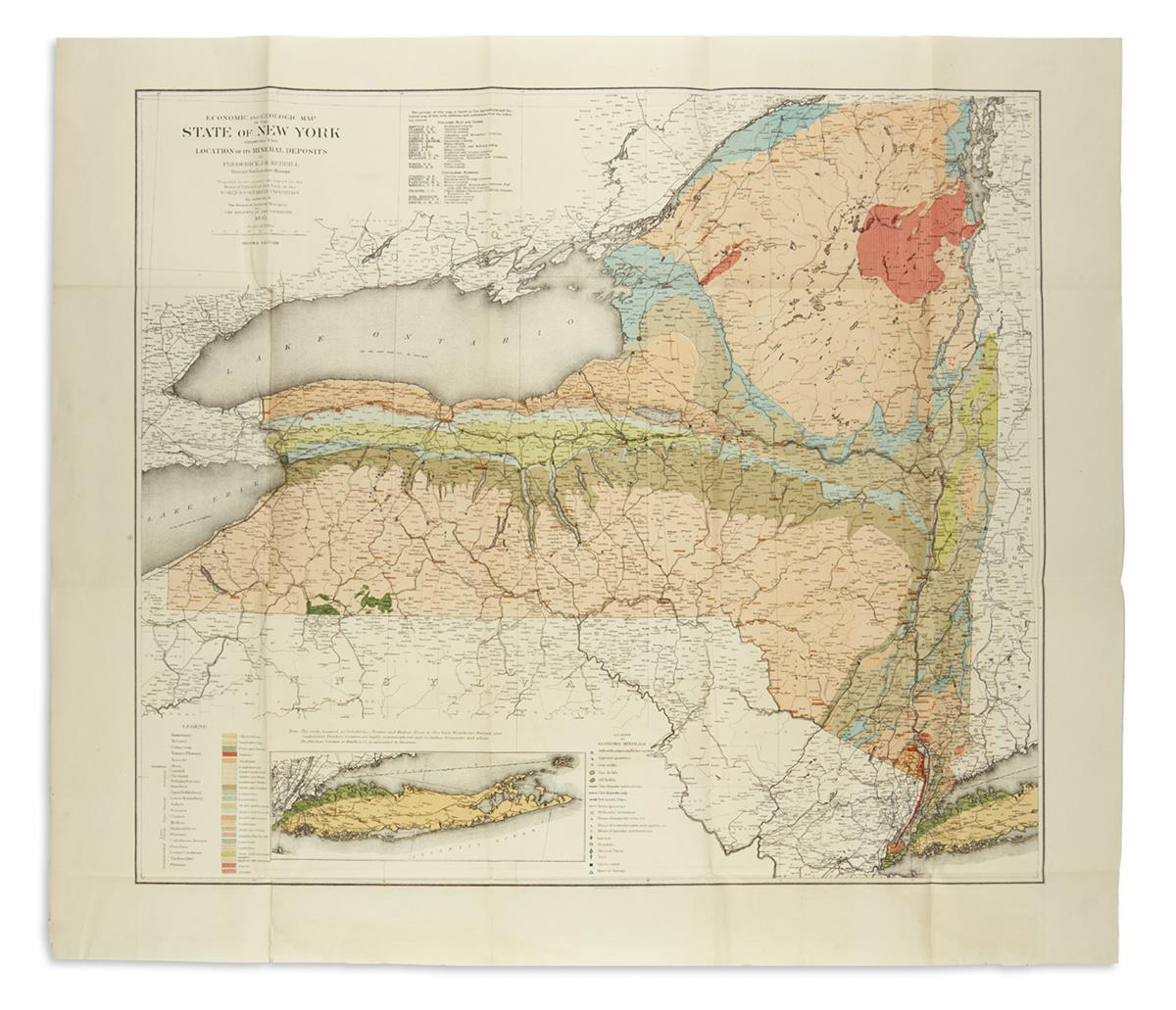 (NEW-YORK)-Merrill-Frederick-JH-Economic-and-Geologic-Map-of