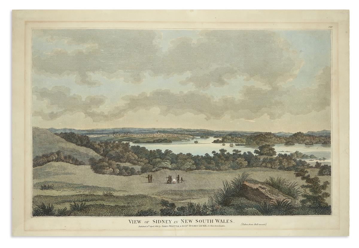 (AUSTRALIA)-[Eyre-John;-after]-View-of-Sidney-in-New-South-W