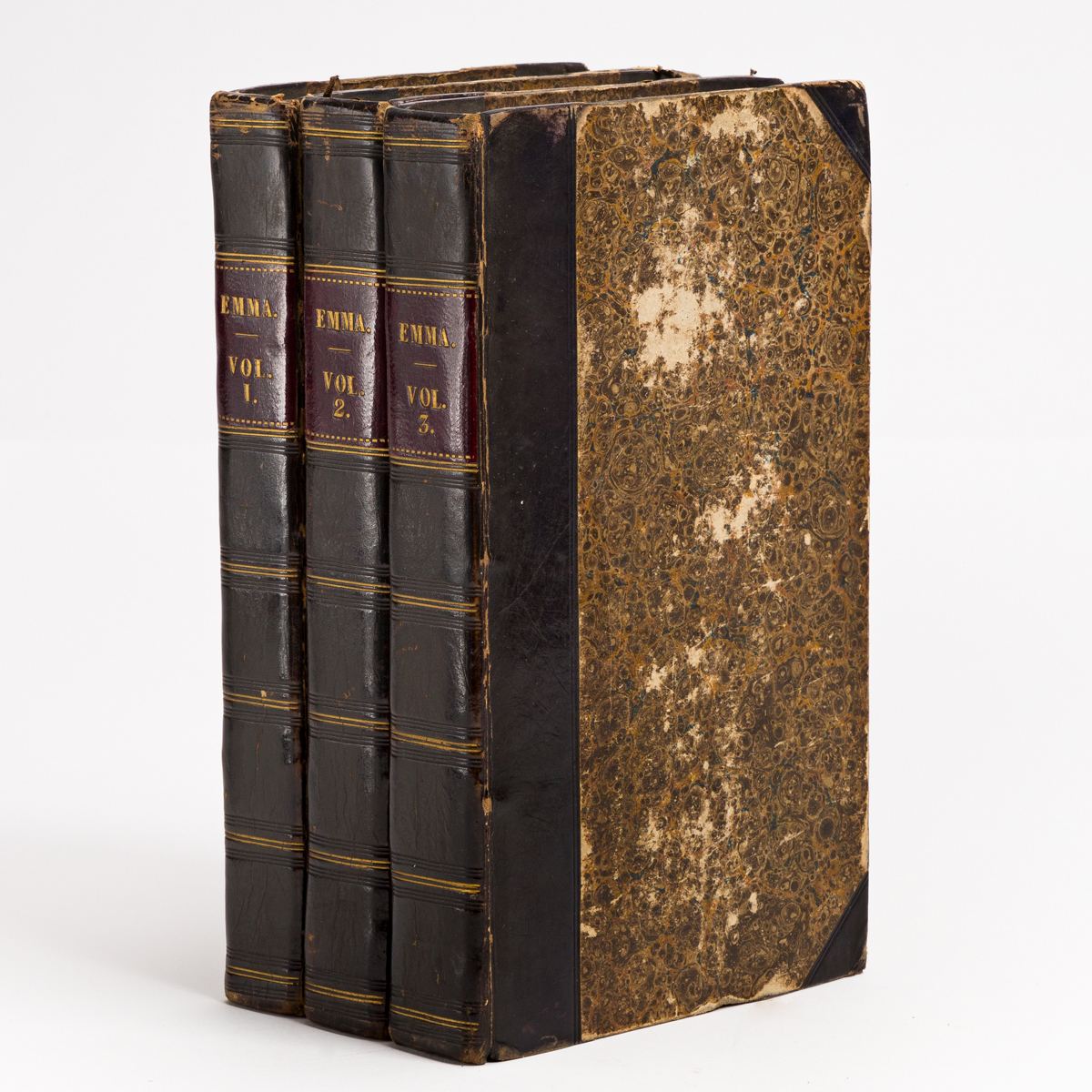 AUSTEN, JANE. Emma: A Novel. In Three Volumes. By the Author of Pride and Prejudice &c. &c.