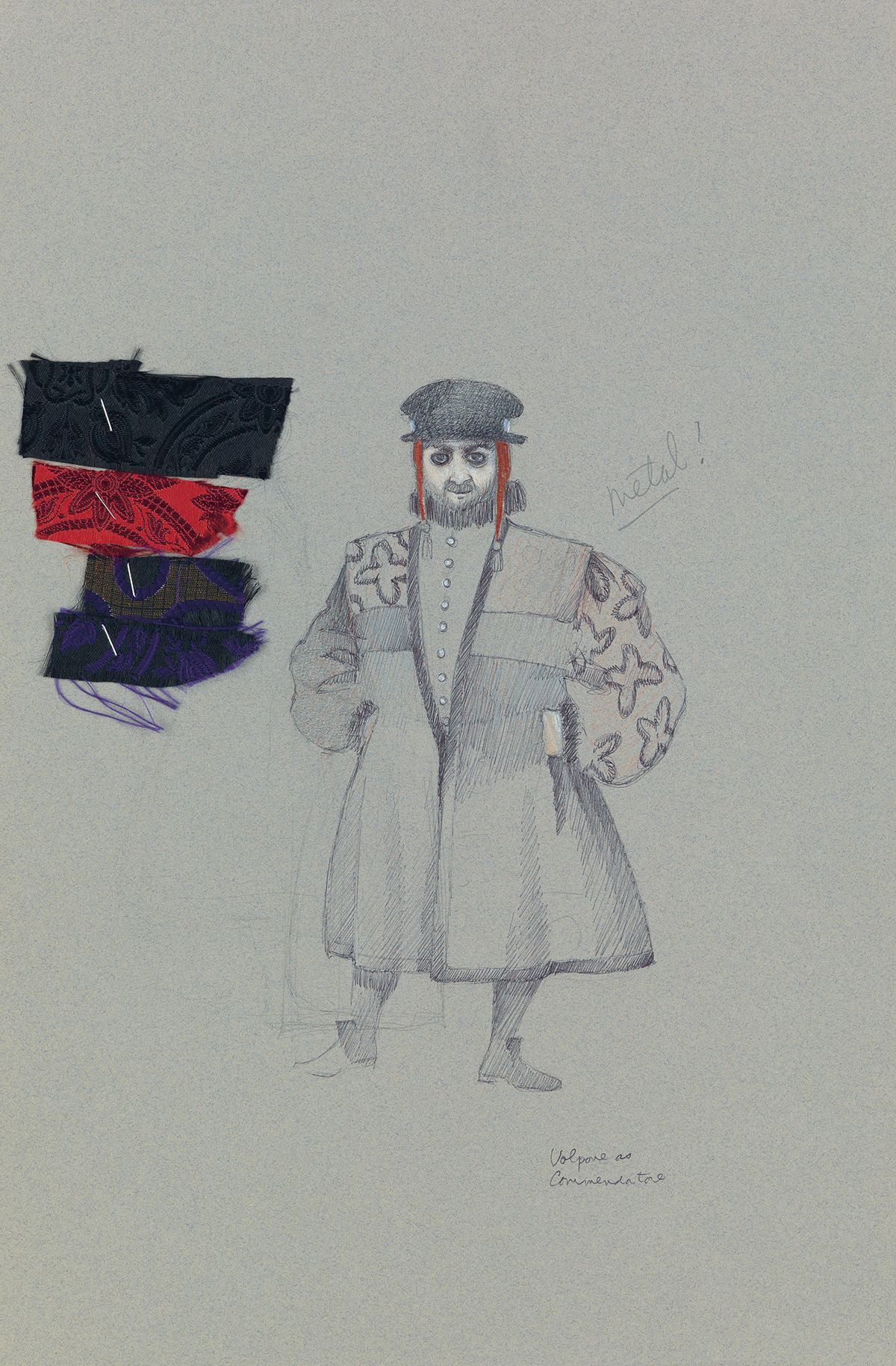 (THEATER--COSTUME)--MARTIN-PAKLEDINAZ-Volpone-as-Commendator