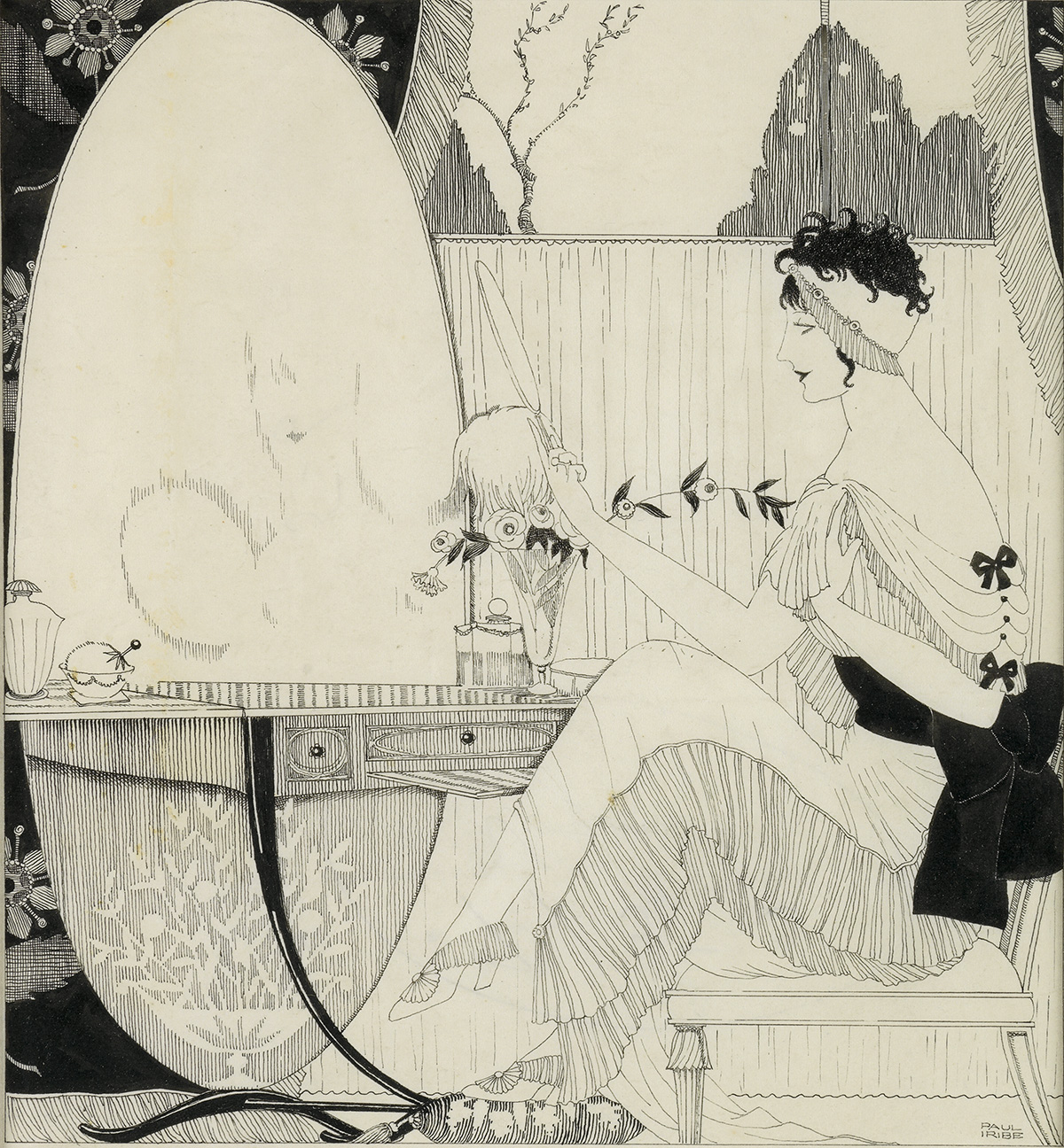 FASHION PAUL IRIBE. The Audacious Note of Modernism in the Boudoir.