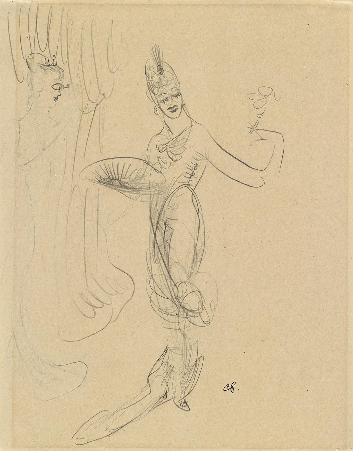 CARL-SPRINCHORN-Two-pencil-drawings