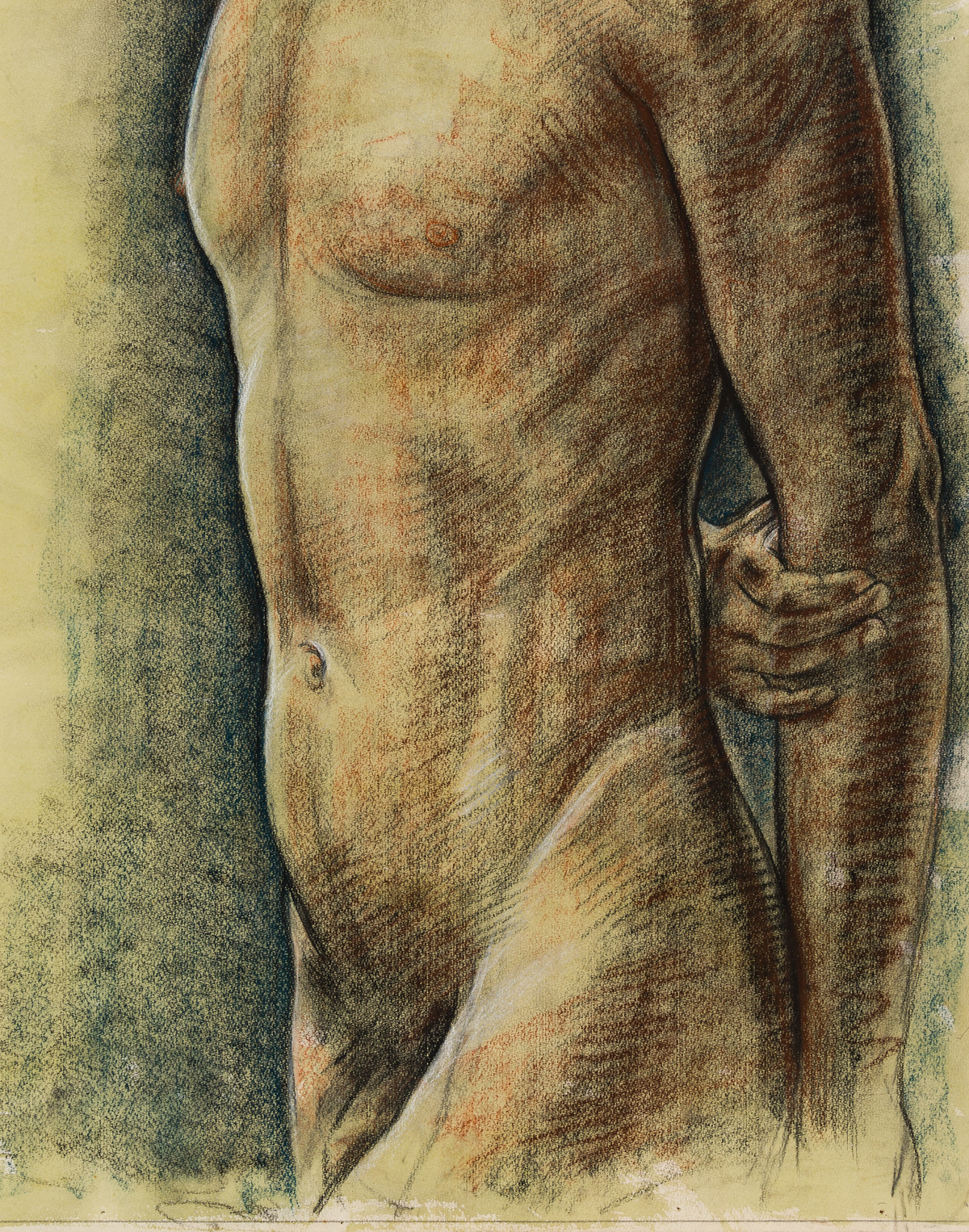 RUDOLF-BONNET-(1895-1978)-Male-Torso