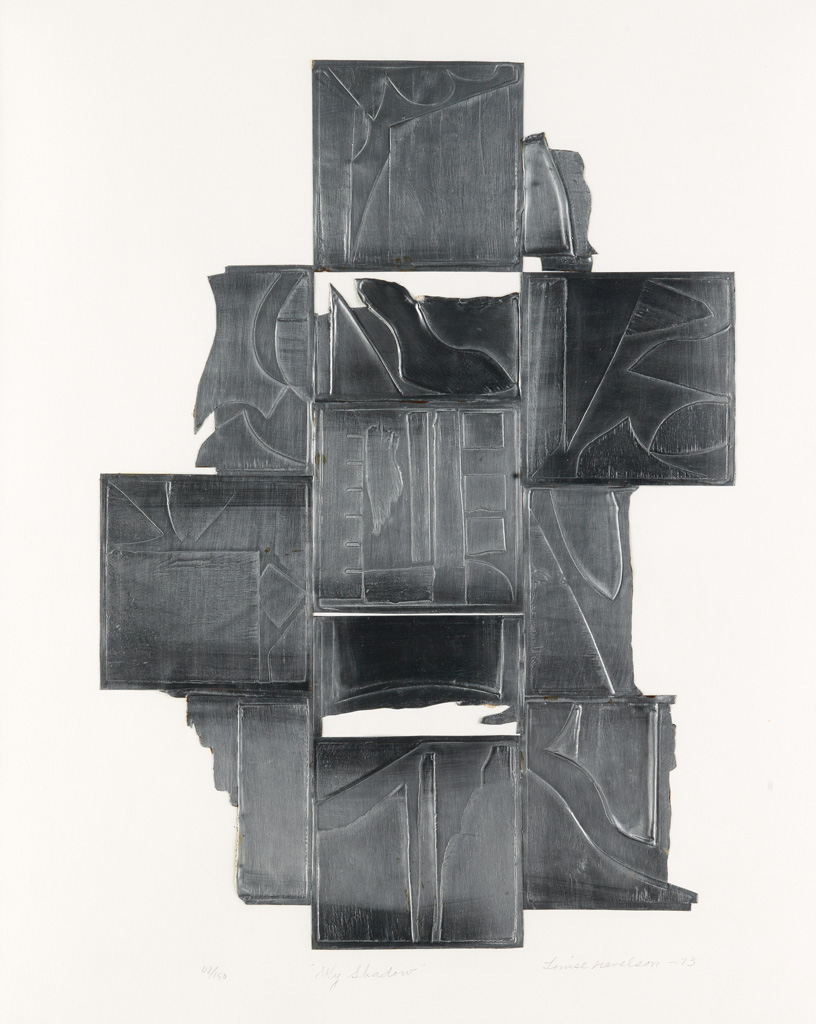 LOUISE NEVELSON Sky Shadow.
