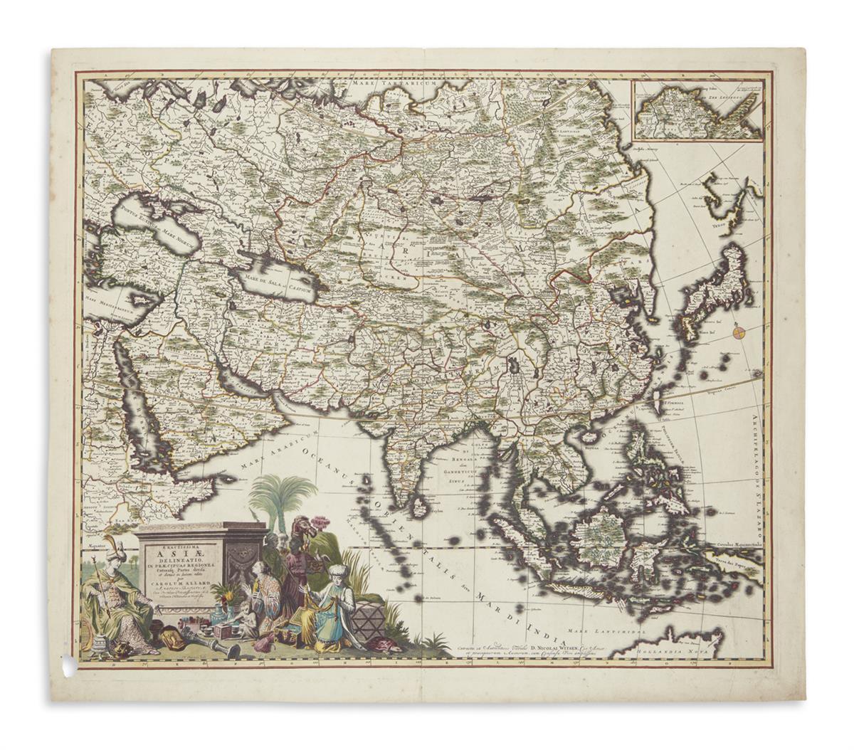 ALLARD-CAREL-Exactissima-Asiae-Delineatio