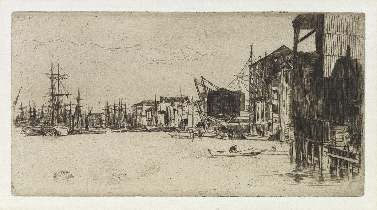 JAMES A. M. WHISTLER Free Trade Wharf.