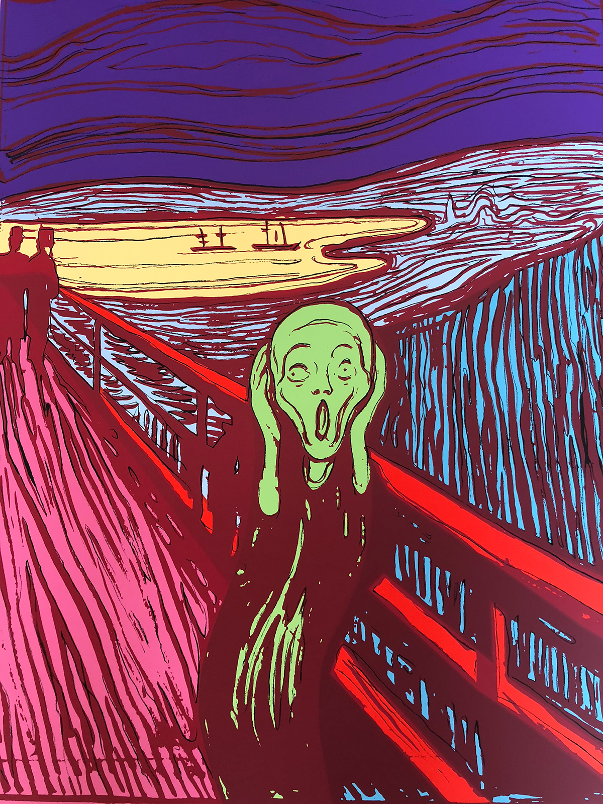 ANDY WARHOL (after) Munchs The Scream