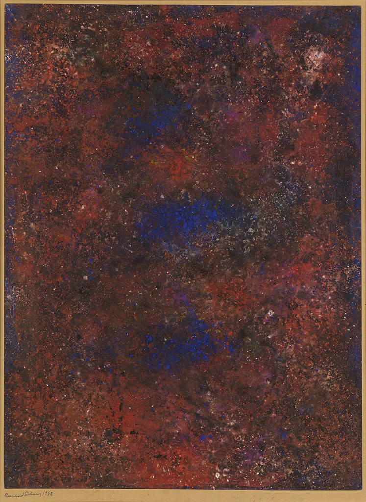 BEAUFORD DELANEY (1901 - 1979) Untitled (Abstract Composition).