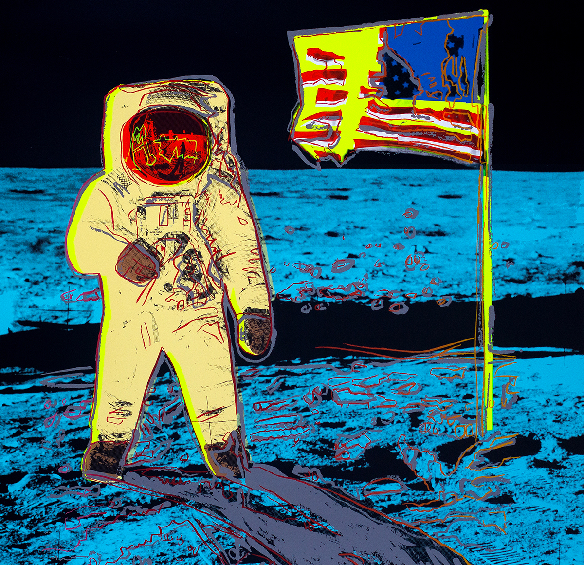 ANDY WARHOL (after) The Moonwalk