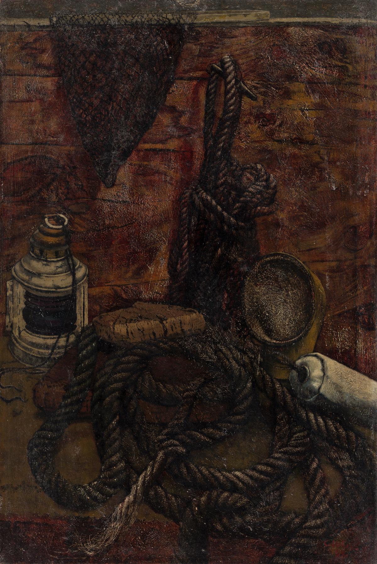 CHARLES MCGEE (1924 - 2021) Untitled (Still Life).