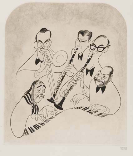 Big Bands: Glenn Miller, Artie Shaw, Benny Goodman, Count Basie, Duke Ellington