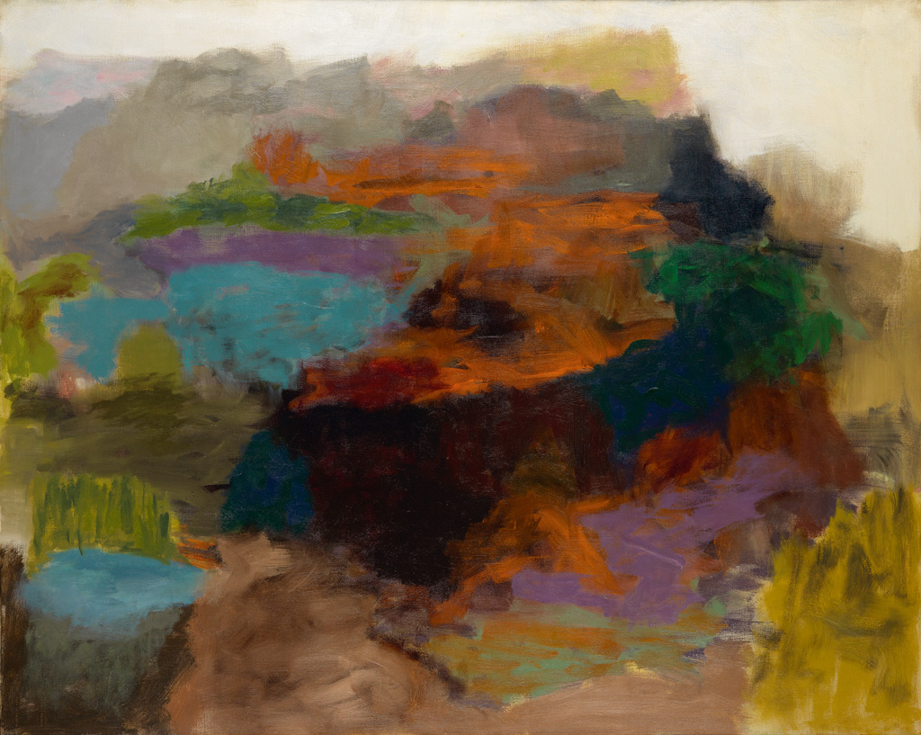 FELRATH HINES (1913 - 1993) Untitled (Abstraction).