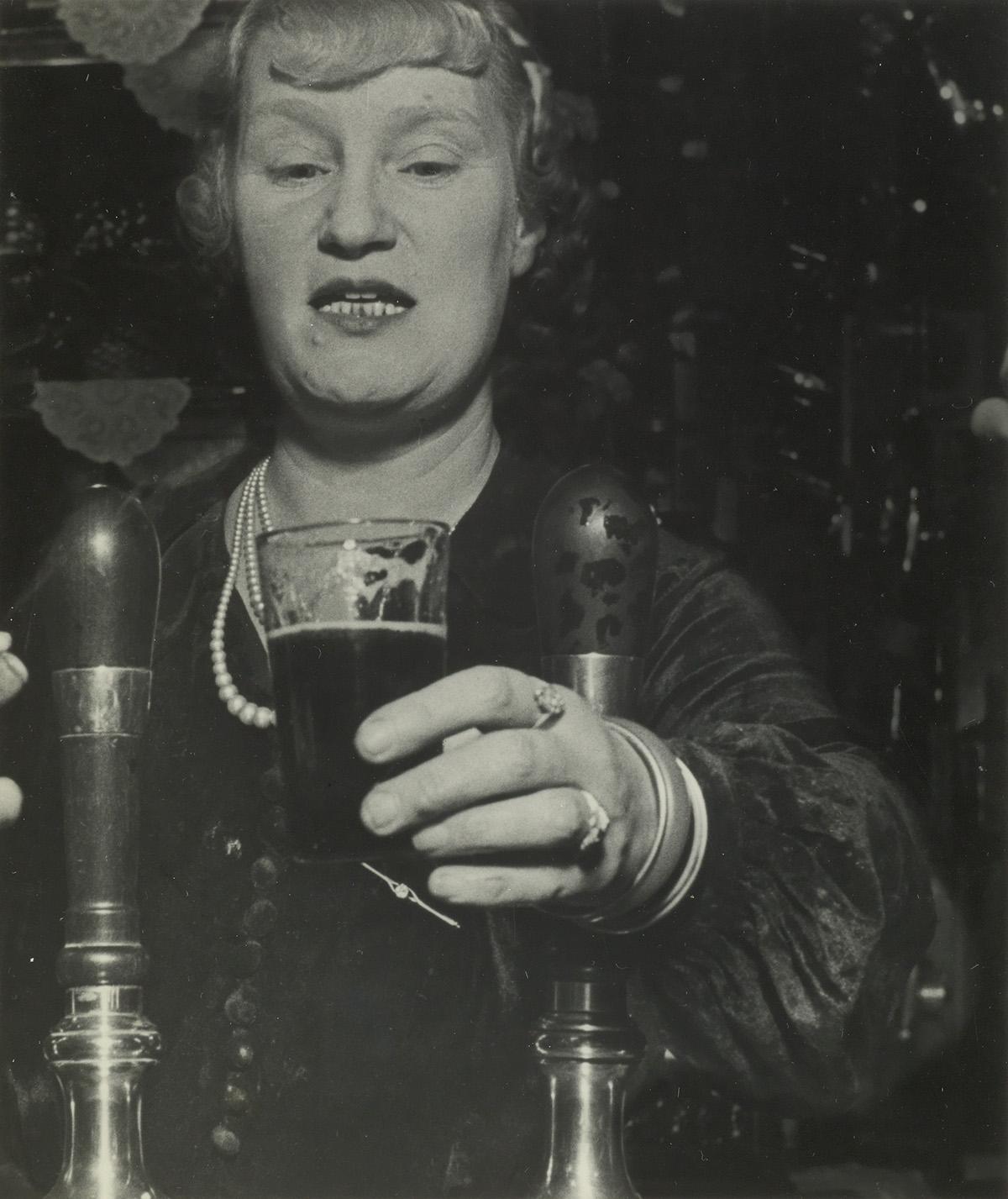 BILL BRANDT (1904-1983) Barmaid at the Crooket Billet, Tower Hill.