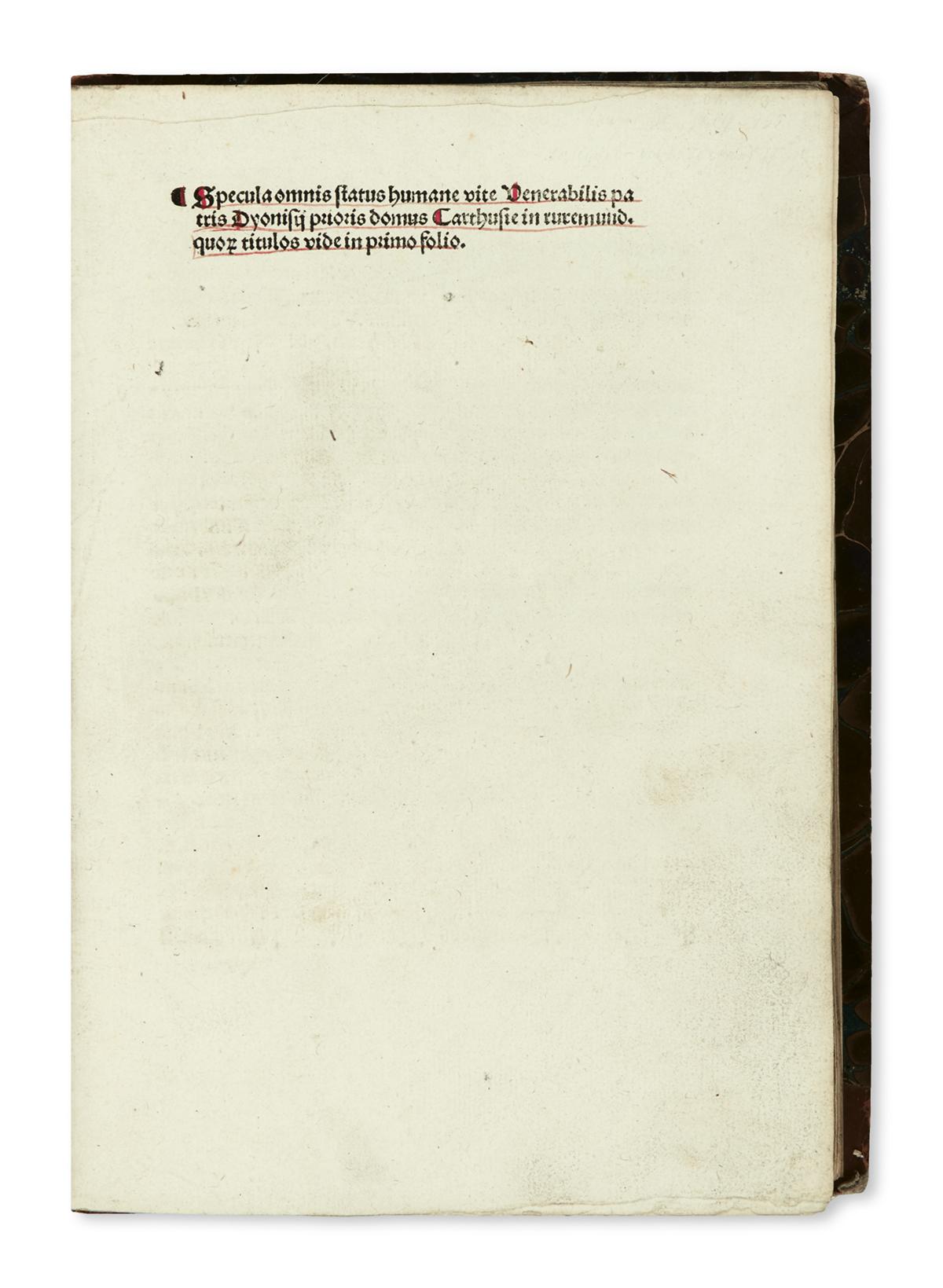 INCUNABULA--DIONYSIUS-the-Carthusian-[i-e-DENIS-VAN-LEEUWEN]
