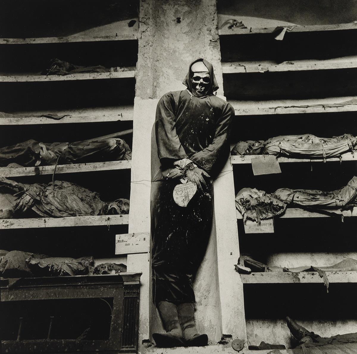 PETER HUJAR (1934-1987) Palermo, Catacombs, Sicily.