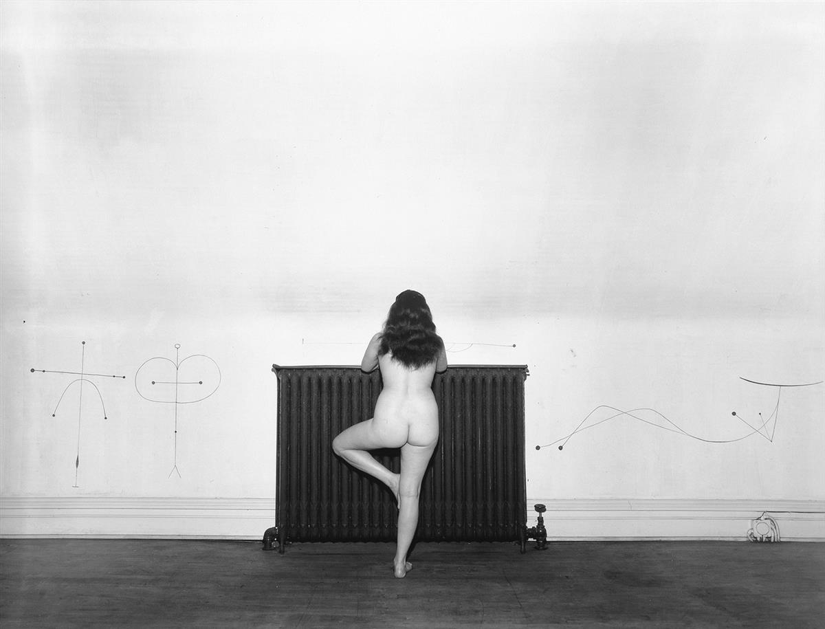 HARRY-CALLAHAN-(1912-1999)-Eleanor-(nude-at-radiator)