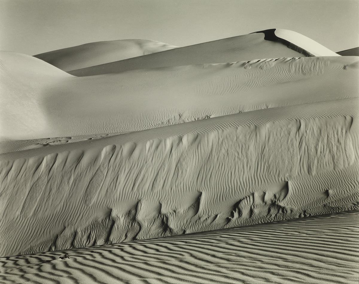 EDWARD WESTON (1886-1958) Dunes, Oceano.