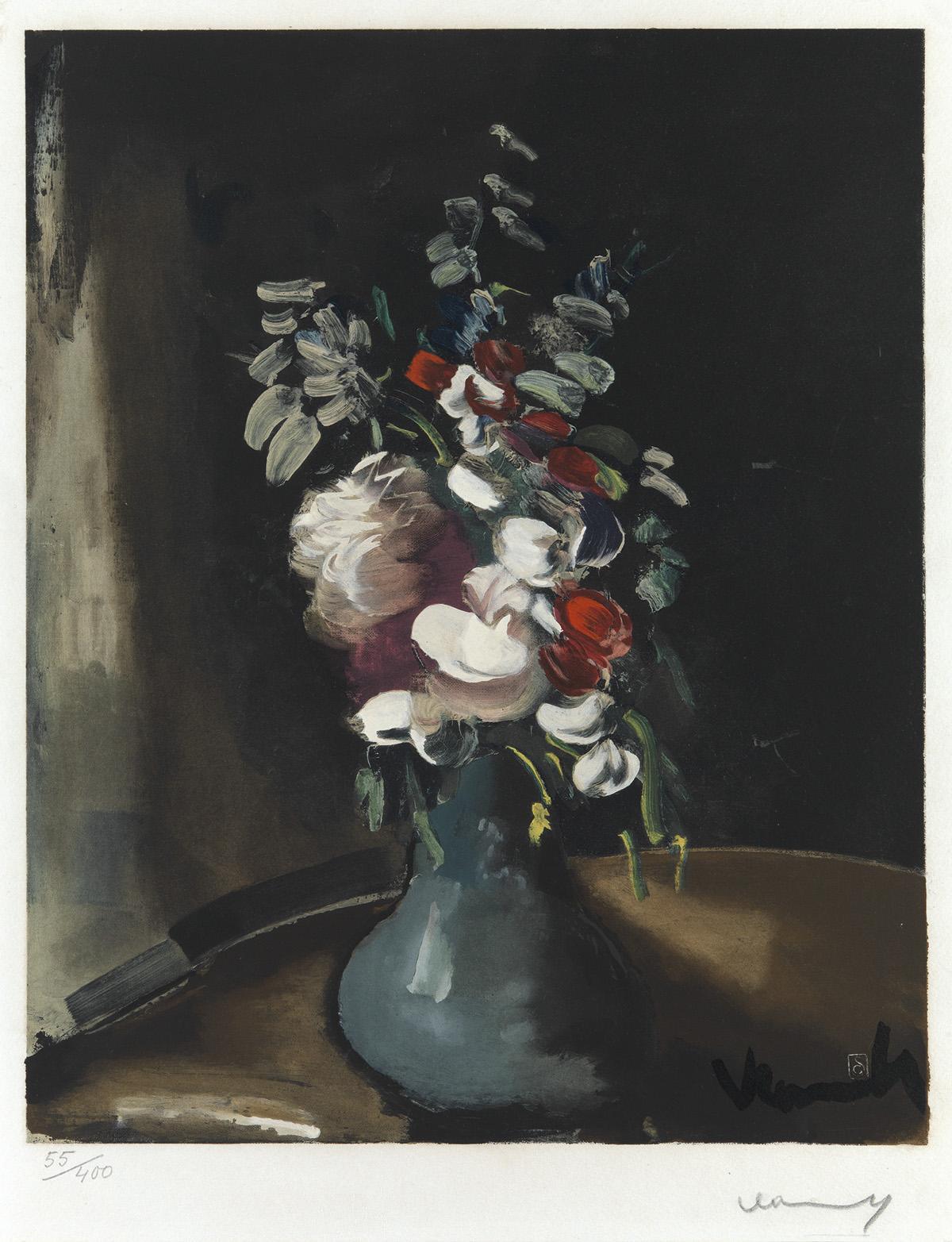 MAURICE-DE-VLAMINCK-(after)-Bouquet-de-Fleurs