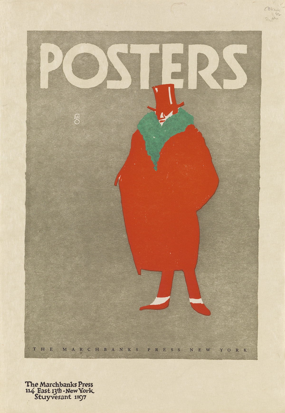 FRED G. COOPER (1883-1962). POSTERS. Circa 1910. 16x11 inches, 40x28 cm. The Marchbanks Press, New York.