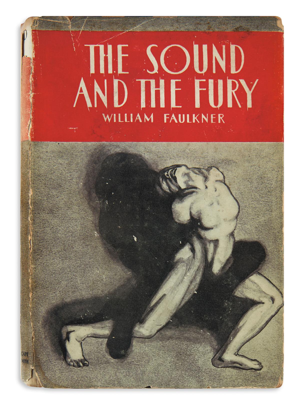 FAULKNER, WILLIAM. Sound and the Fury.