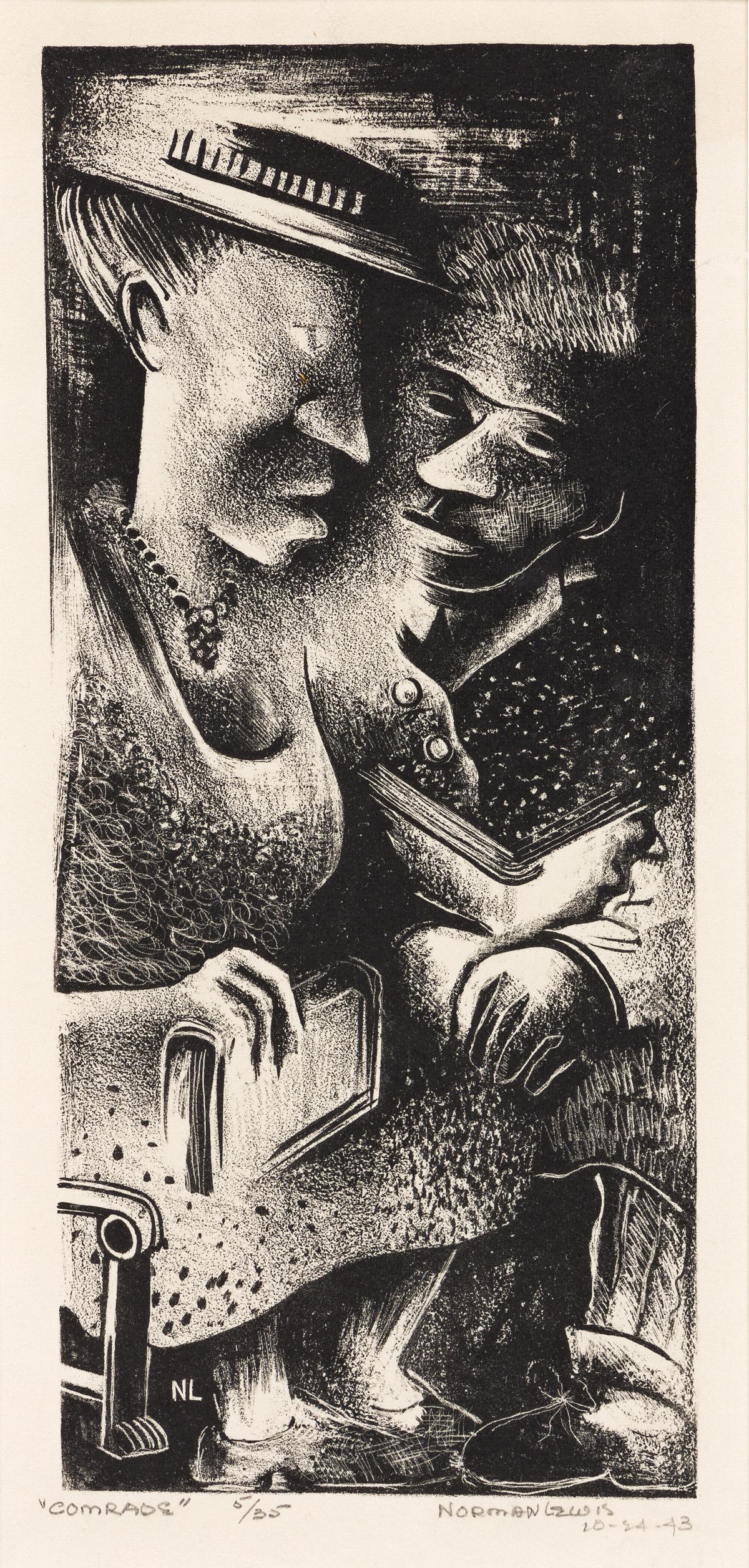 NORMAN LEWIS (1909-1979)  Comrades.
