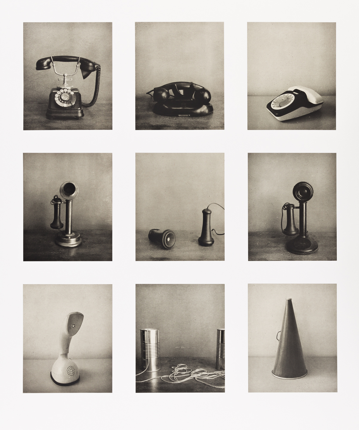 CARRIE MAE WEEMS (1953 - ) Untitled (Listening Devices).