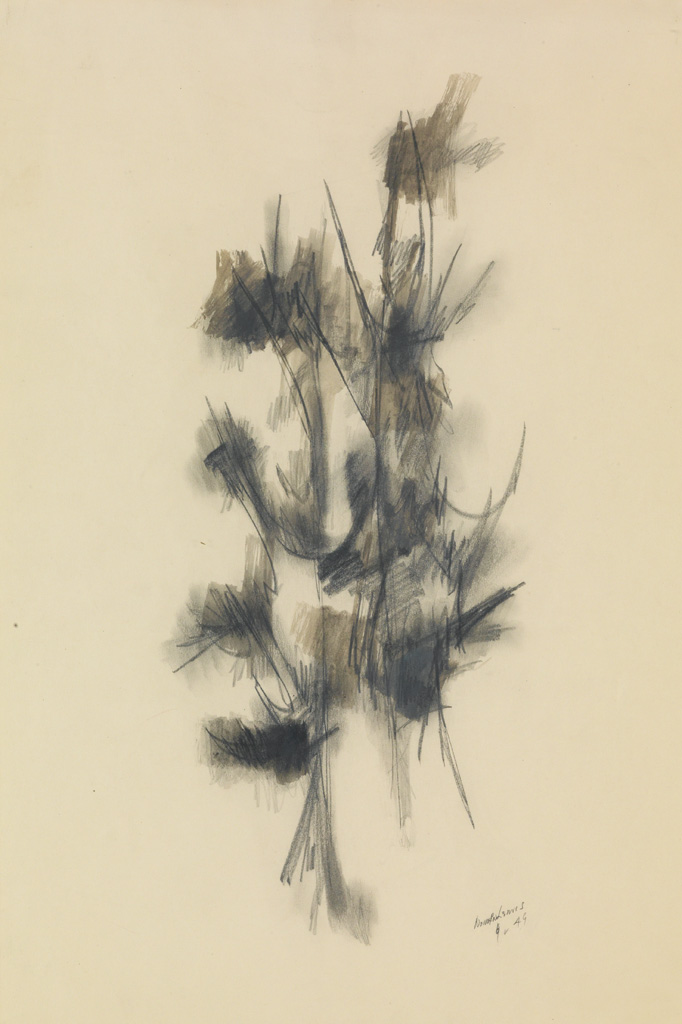 NORMAN LEWIS (1909 - 1979) Untitled (Plant Forms).