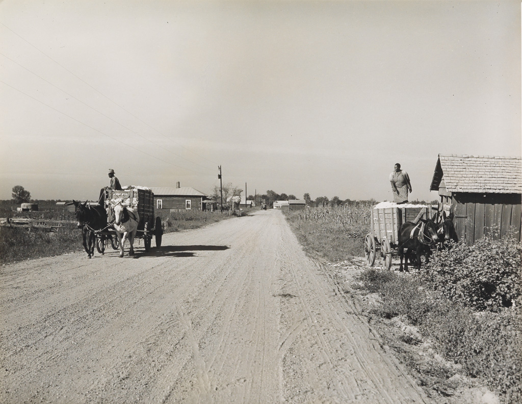 MARION POST WOLCOTT (1910-1990) Marcella Cotton Plantation, Mileston, Mississippi.