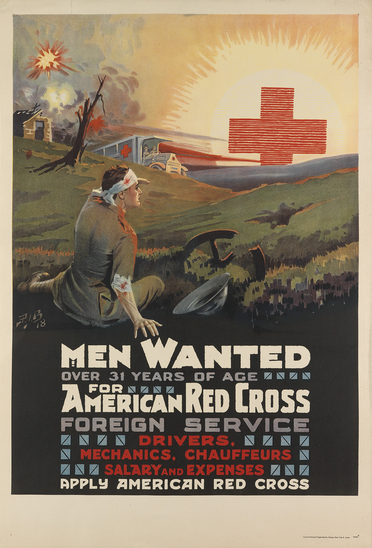 PIB-(MONOGRAM-UNKNOWN)-MEN-WANTED-FOR-AMERICAN-RED-CROSS-FOR