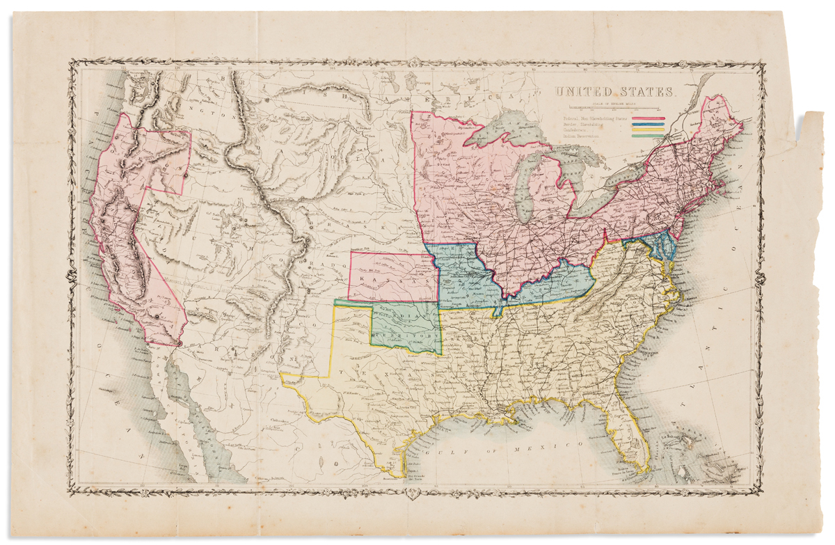(CIVIL WAR.) Shaffner, Taliaferro Preston. United States.