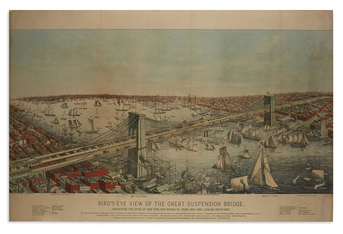 (NEW-YORK-CITY)-Birds-Eye-View-of-the-Great-Suspension-Bridg