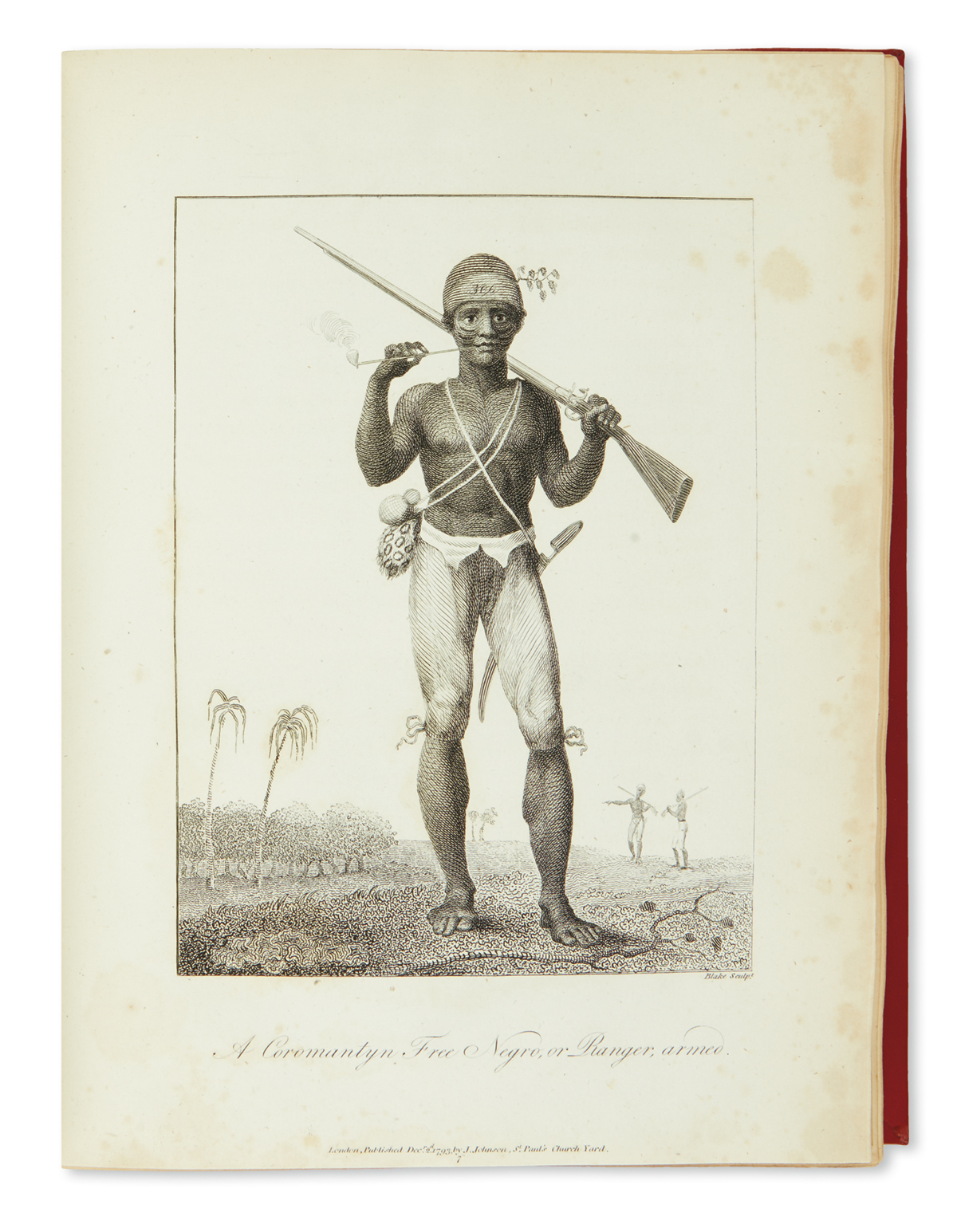 (SLAVERY AND ABOLITION--SURINAM.) Stedman, John Gabriel. Narrative of a Five Years Expedition Against the Revolted Negroes of Surinam.