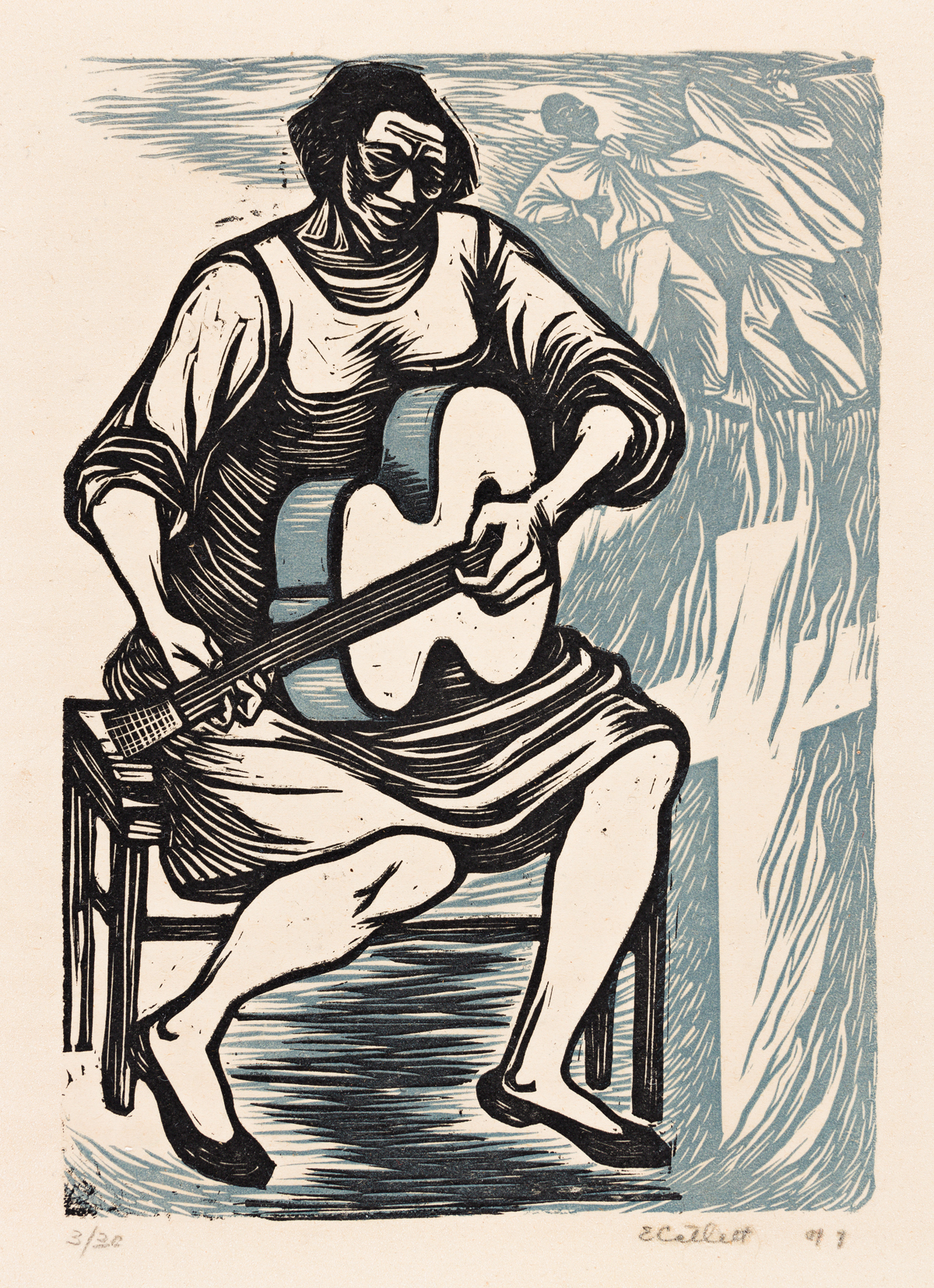 ELIZABETH CATLETT (1915 - 2012) I have given the world my songs.
