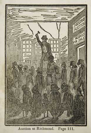 (SLAVERY AND ABOLITION.) (BOURNE, GEORGE.) Picture of Slavery in the United States of America.