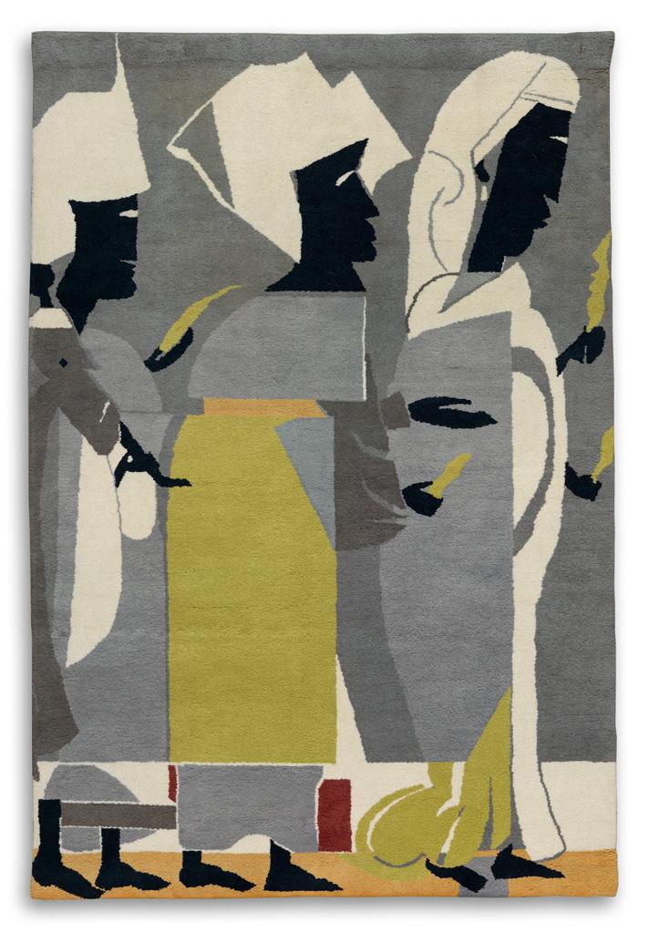 ROMARE BEARDEN (1911 - 1988) Untitled (Spring Festival).