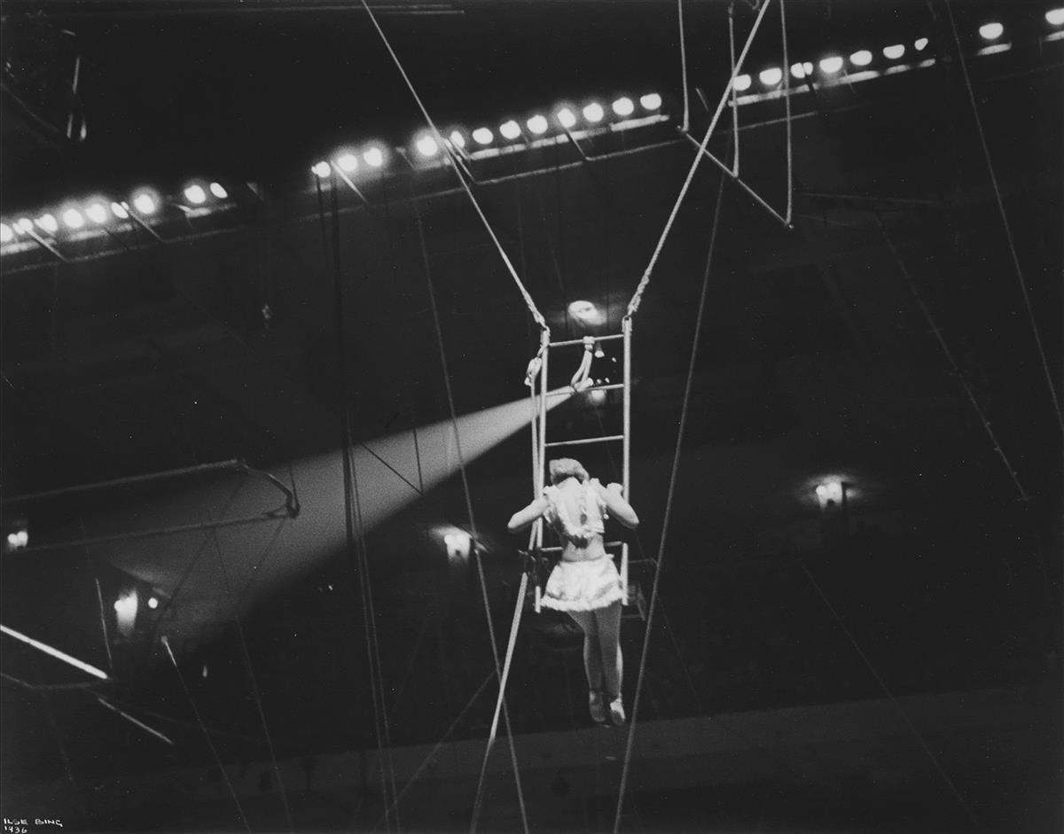 ILSE BING (1899-1998) Circus, New York.