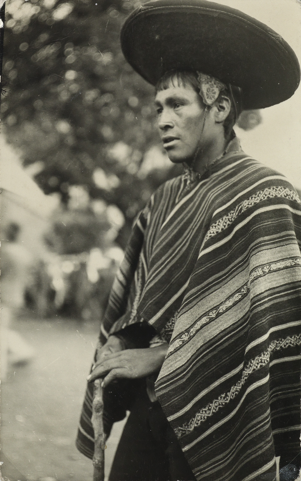 MARTIN CHAMBI (1891-1973) A group of 8 photographs of indigenous figures in Peru.
