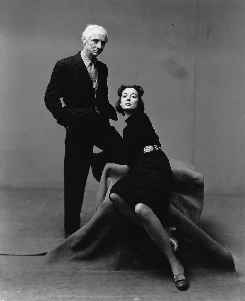 IRVING PENN (1917-2009) Max Ernst and Dorothea Tanning, Painters.