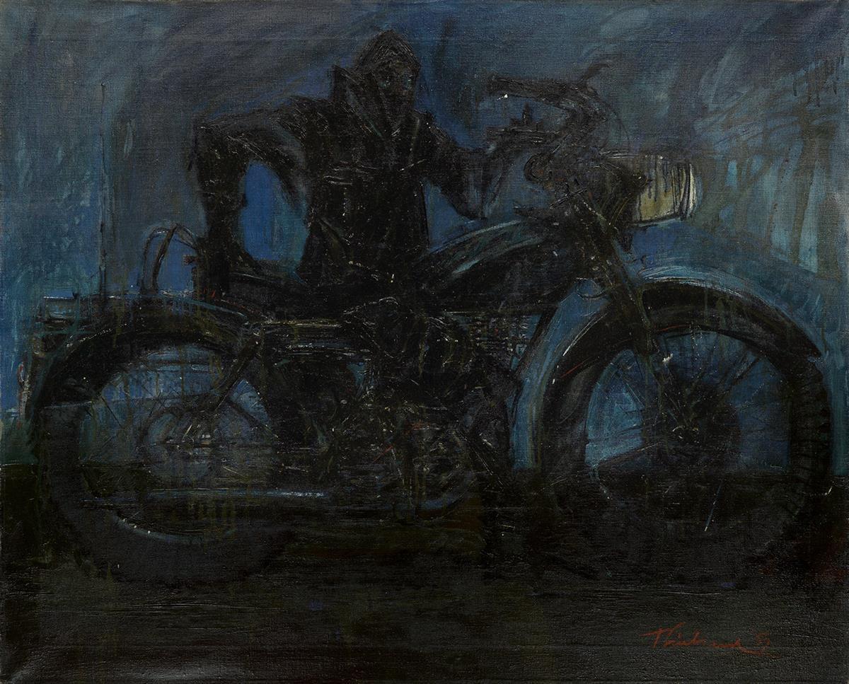 WAYNE THIEBAUD Night Rider.