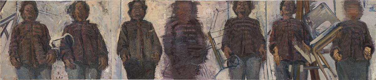 SEDRICK HUCKABY III (1975 -   ) Seven Figures.