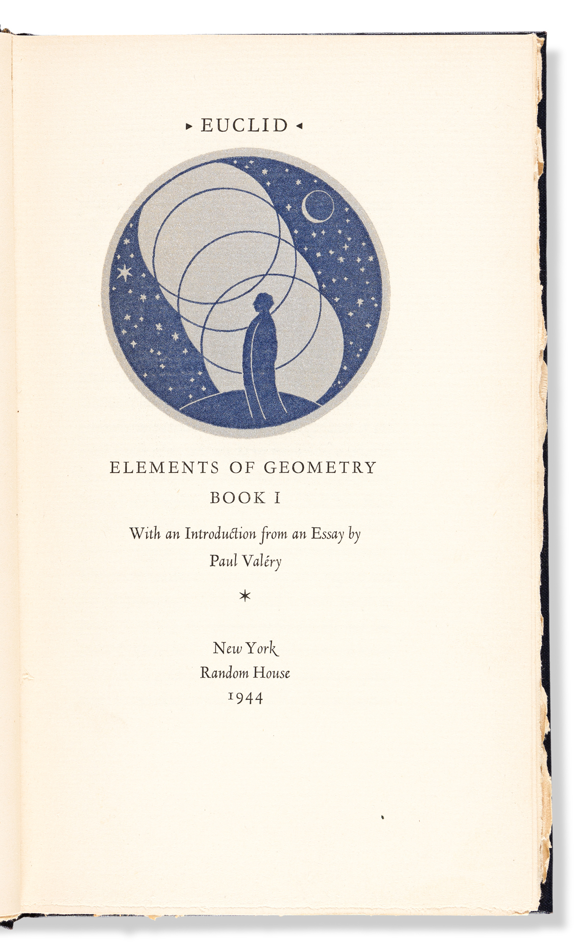 Euclid (mid-4th century BCE) Elements of Geometry Book I.