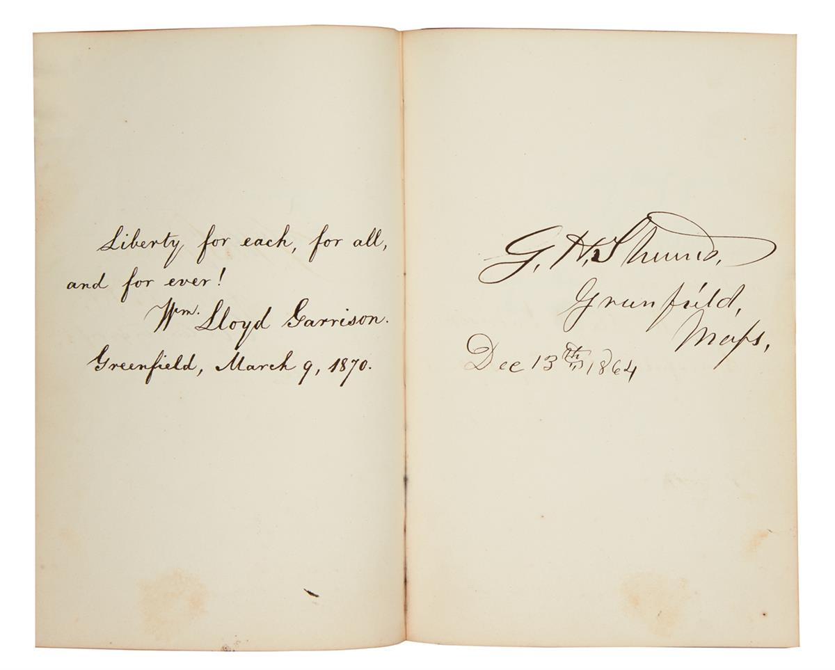 (CIVIL WAR--ALBUM.) Autograph album containing over 140 items, mostly Signatures, mostly by politicians or military figures, mostly inc
