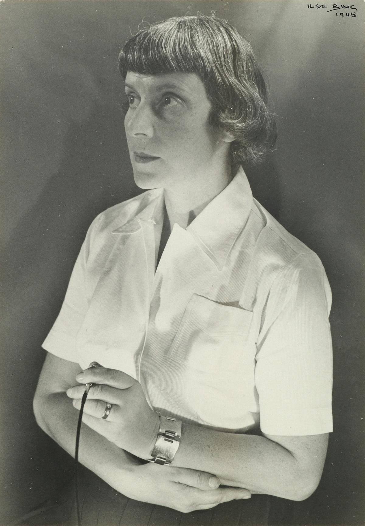 ILSE-BING-(1899-1998)-Self-portrait