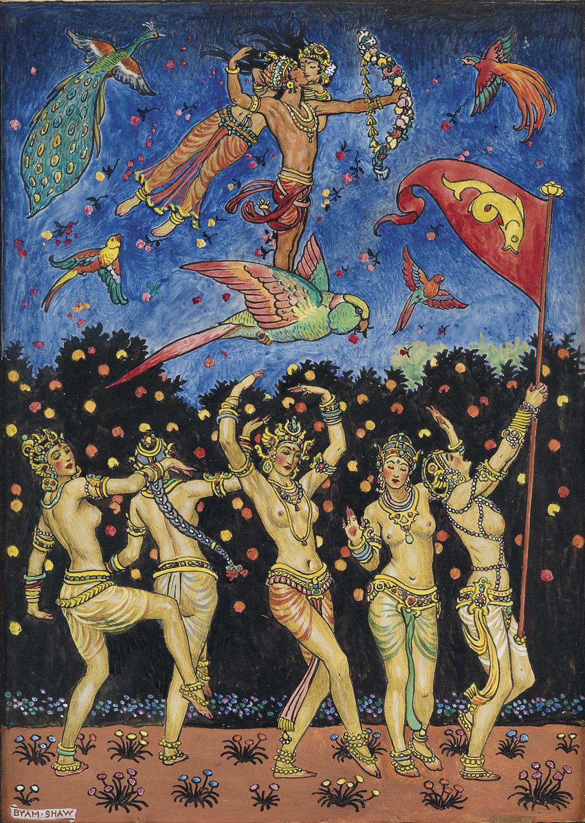 JOHN BYAM SHAW. The Garden of Kama, and other love lyrics from India.