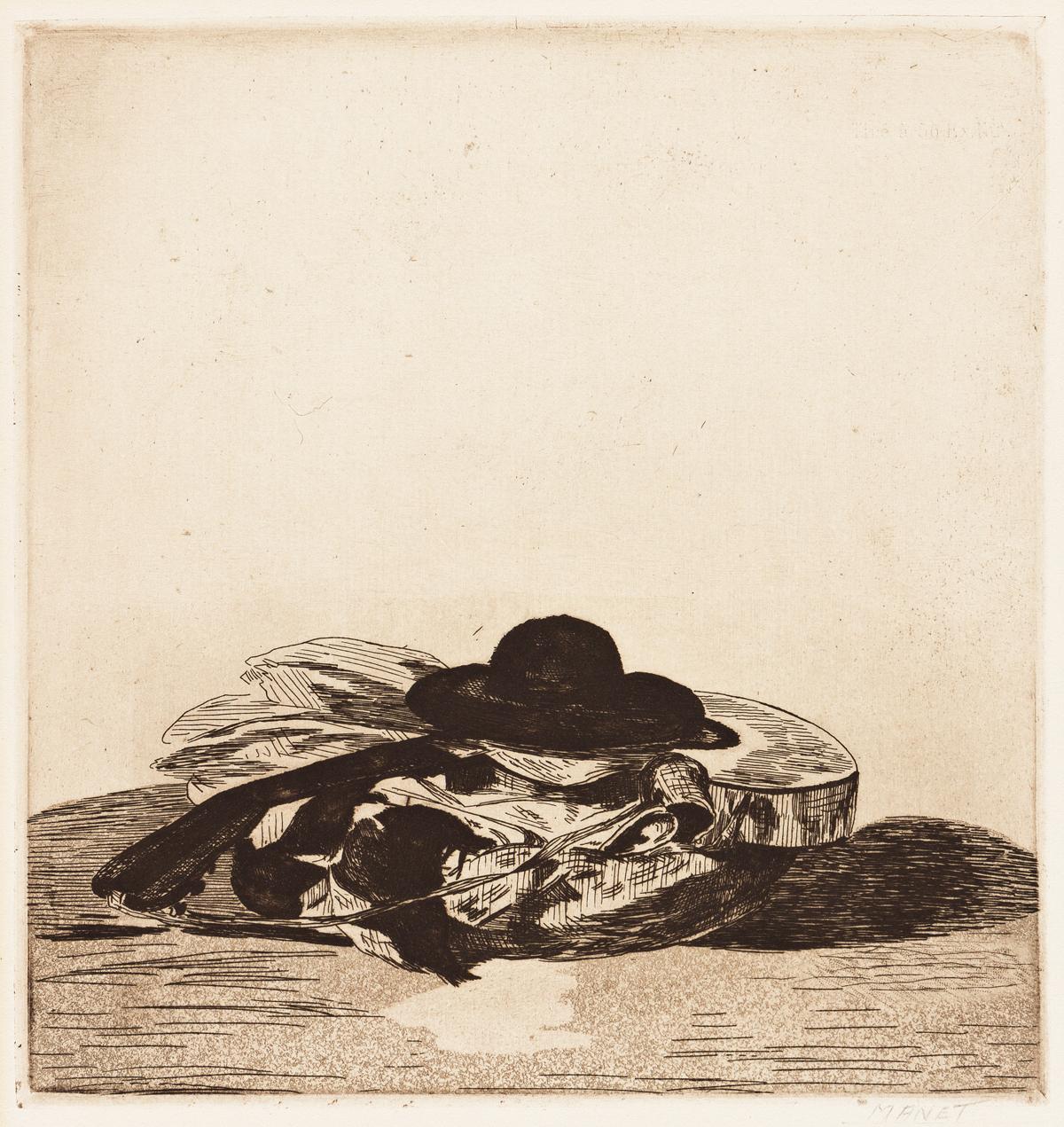 ÉDOUARD MANET Chapeau et Guitare: Frontispiece.