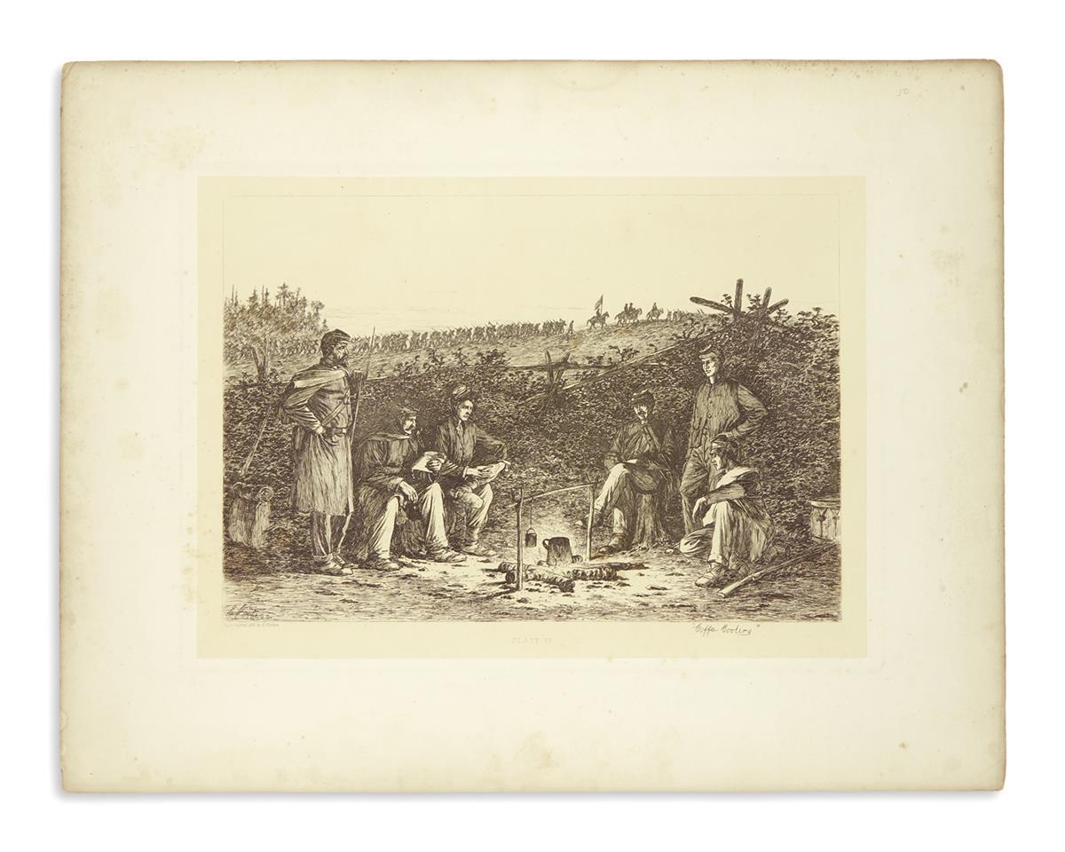 (PRINTS--CIVIL-WAR)-Group-of-4-Civil-War-prints