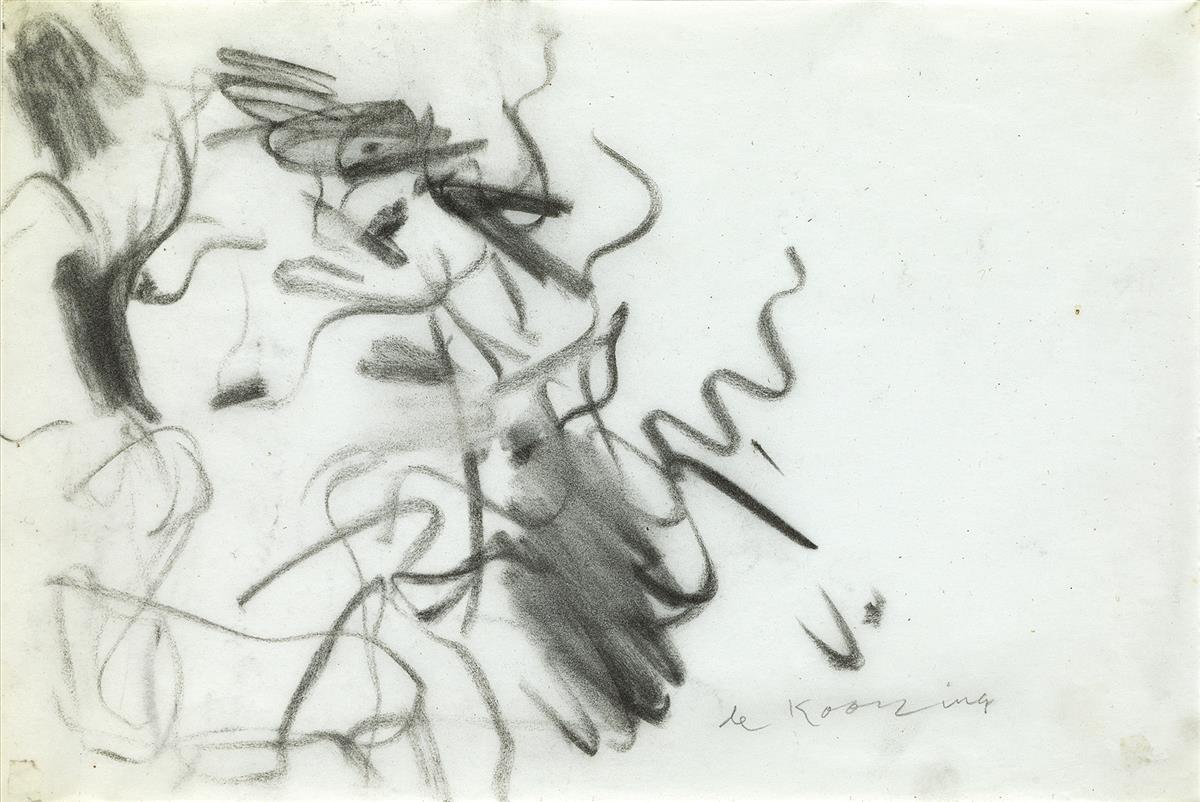 WILLEM-DE-KOONING-Untitled