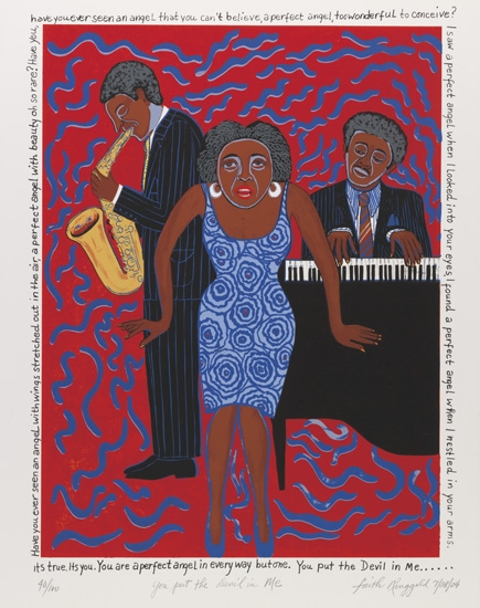 FAITH-RINGGOLD-(1934-----)-Mama-Can-Sing-You-Put-the-Devil-i