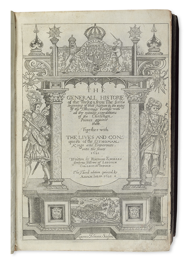 KNOLLES-RICHARD-The-Generall-Historie-of-the-Turkes--1621